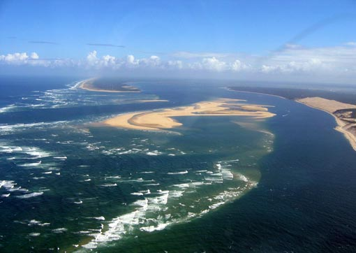 La côte Atlantique et le Bassin d'Arcachon (credit photo : Mtu33260)